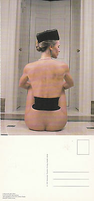 Glamour Model Lynka From Behind Unused Colour Postcard By Eric Kroll