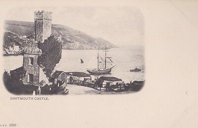 RA 39b rare old uncirculated vintage postcard  DARTMOUTH CASTLE