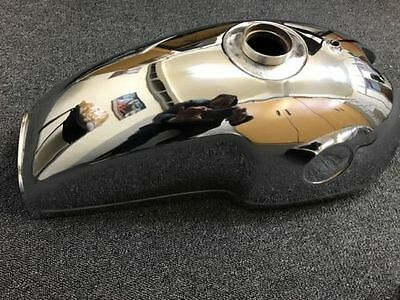 Benelli Mojave Cafe Racer 260 360 Chrome Plated Petrol Fuel Gas Tank