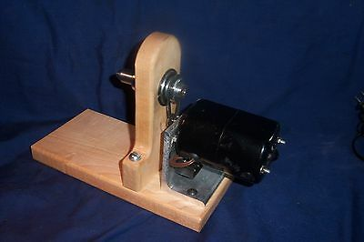 Electric Single  Ended Bobbin Winder for Boat  Shuttles ,Spools, Bobbins, Prins