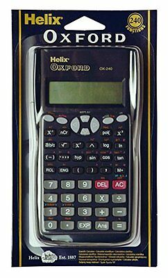 Helix Oxford Scientific Calculator Maths School Exams Stationery College GCSEs