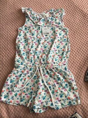 Next Girls Playsuit - New With Tags - 3-4 Years