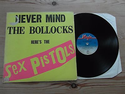 Sex Pistols - Never Mind The Bollocks-Virgin-Vinyl Lp 1977