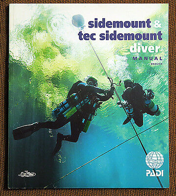 NEW PADI Sidemount & Tec Sidemount Manual in English