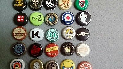 Bottle caps beer etc mixed set of 25 #3