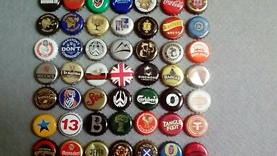 Bottle caps beer etc mixed set of 50 #6