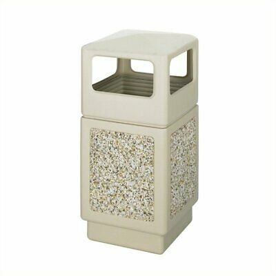 Safco Canmeleon Aggregate Panel - Side Open 38 Gallon Office Receptacles