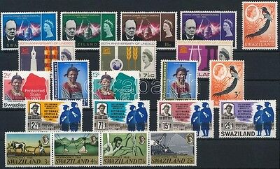 Swaziland stamp 1965-1969 40 stamps MNH 1965 WS228223