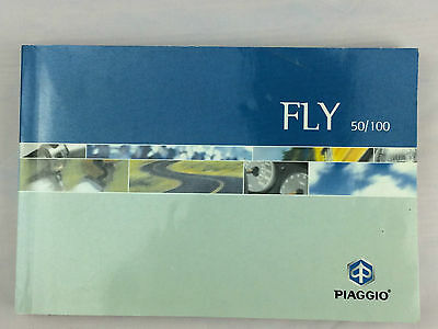 Piaggio Fly 50 100 Original Owners Manual Users Handbook Riders Book 2005-On