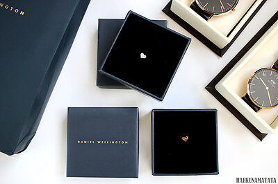 New Daniel Wellington Classic Heart Charm Silver Or Rose Gold For All Watches