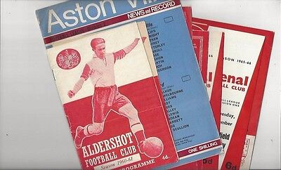 97 Mixed Football Programmes 1960/61 to 1969/70