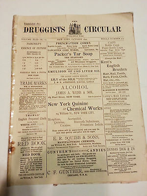 Druggists Circular  1899  October