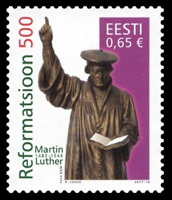 Stamp of ESTONIA 2017 - Reformation 500 years / 657-27.05.17