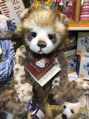 Tegan Charlie Bears, Brand New with Tags, 2017 Collection