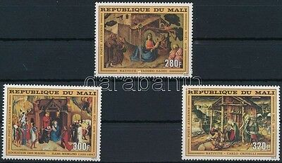 Mali stamp Christmas set MNH 1976 Mi 558-560 WS232040