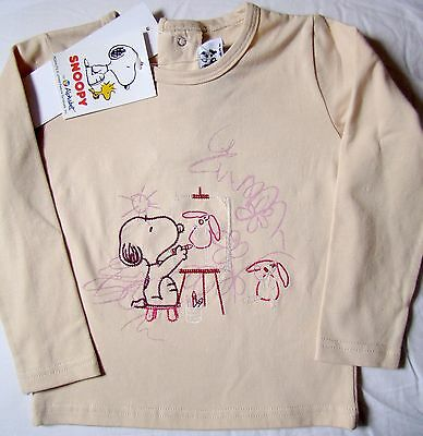 Tee-Shirt Motif Snoopy - Taille 23 Mois / 2 Ans - Neuf