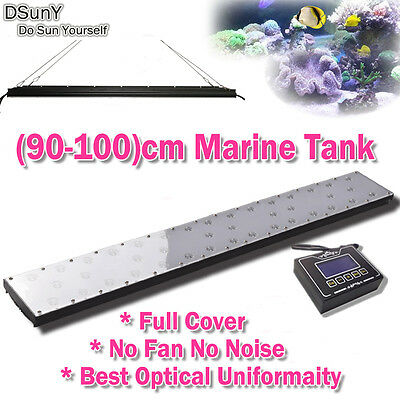 "DSunY 36"" LED Aquarium Light Full Spectrum Programmable For Marine Fish Rock"