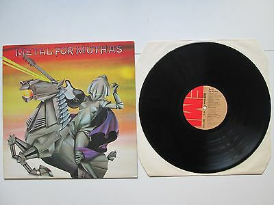 METAL FOR MUTHAS LP N MINT UK 1ST PRESS VINYL RARE Iron Maiden Angelwitch