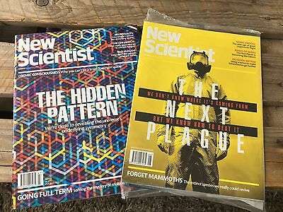 New Scientist - 18th and 25th February 2017. Brand new and unopened