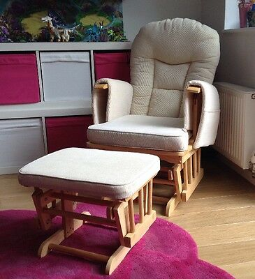 Rocking Nursing Chair And Stool Collection WA13