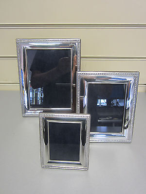 Carrs of Sheffield Sterling Silver Photo Frames