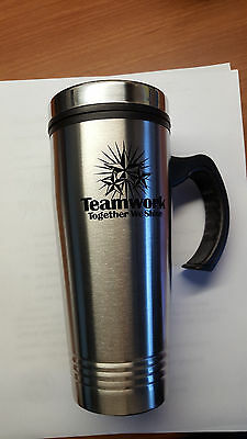 New 14OZ Stainless Steel Coffee Cup with Handle Insulated Travel Mug