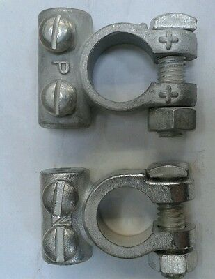 Massey Ferguson,David Brown Tractor Positive and Negative Battery Terminals