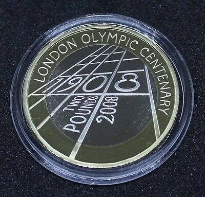 ~~ 2008 Royal Mint £2 Two Pound Proof Coin ~ 1908 London Olympics Centenary ~~