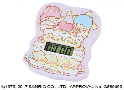 Little Twin Stars Digital Kitchen Cooking Timer Magnetic Star Sound Cute SANRIO