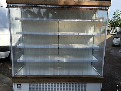 Commercial Multi deck Display Dairy Fridge Cabinet