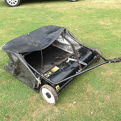 """Ride On Mower / Tractor Towed  Lawn Garden Sweeper    38 """""""