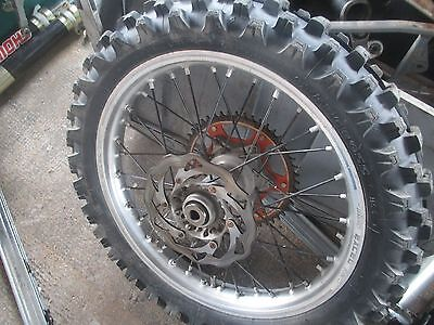 KTM SXF 250 2012 front and rear wheel set
