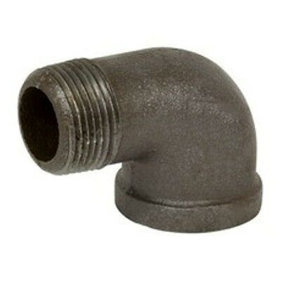 1/2 Inch Black Malleable Iron Pipe Threaded 90° Street Elbow Fittings - P6505