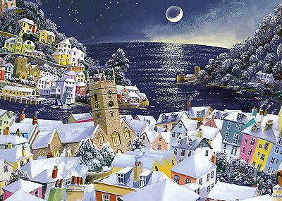 Gibsons Jigsaw Puzzle 1000 Pieces Christmas Moon By John Gillo G6198