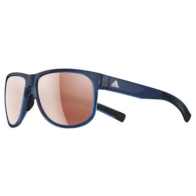 adidas Sport Sprung Sunglasses - Blue Shiny (LST Active Silver) 47% OFF RRP