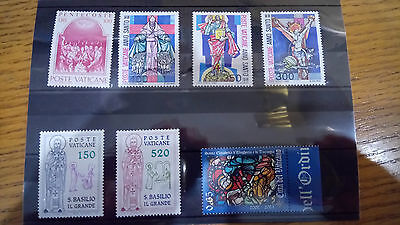 Vatican Stamps # 4 Poste Vaticane Italy 10 stock cards mind