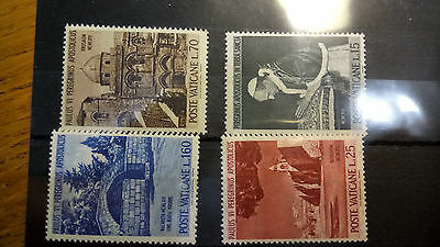 Vatican stamps Poste Vaticae. 12 stock cards #1 mind Italy