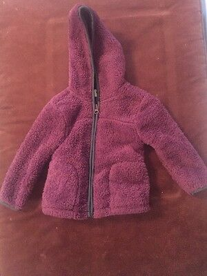 Girls Old Navy Fleece Jacket Size 18-24 Months