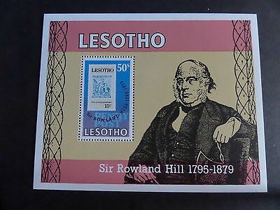 Lesotho 1979 Death Cent Rowland Hill MS378 miniature sheet MNH UM unmounted mint