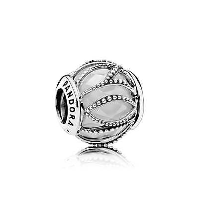 New Genuine 925 Sterling Silver PANDORA Radiant Lines Charm
