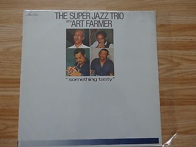 The Super Jazz Trio With Art Farmer -Something Tasty- Records