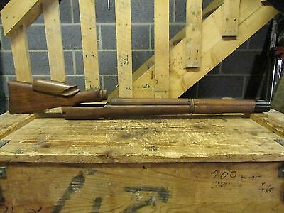 lee enfield no4T sniper wood ,un issued old stock.