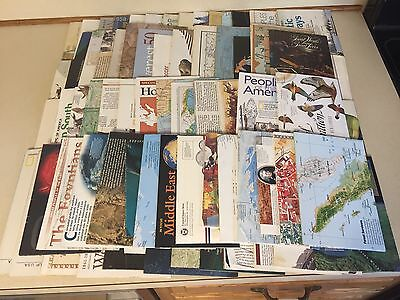 Vintage Lot of 80+ National Geographic Maps (1970 - 2010)
