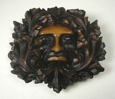 Lincoln Cathedral England Medieval Green Man Cast Replica Reproduction
