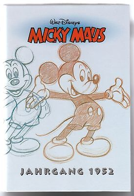 Micky Maus Reprint Kassette Nr.1 Jahrgang 1952 in Topzustand !!!