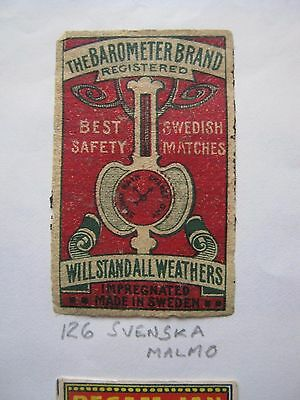 Old Swedish Matchbox Label.design 6.