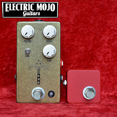 JHS Morning Glory V4 Overdrive & Red Remote Pedal