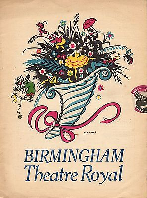 1939 Theatre Programme. Birmingham Theatre Royal. What Say They.