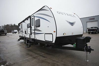 2017 Keystone Outback Ultra Lite 314UBH Travel Trailer Bunkhouse