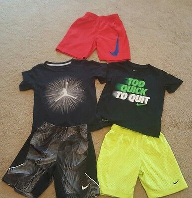 boys 4T 2 outfits 1 extra pair of shorts. $225 MSRP